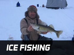 Lake Gogebic Ice Fishing