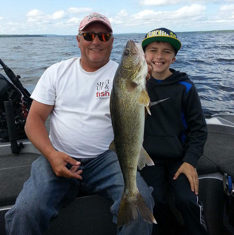 Walleye Fishing on Lake Gogebic in Michigan's Upper Peninsula - The