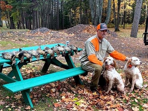 Grouse Hunting Near Lake Gogebic