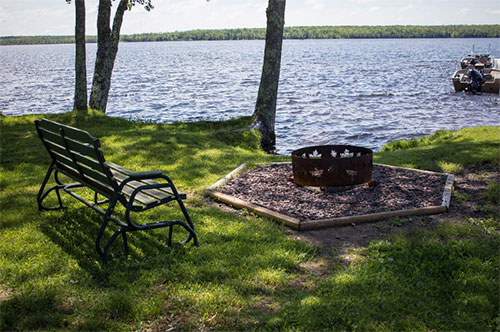 Summertime at The Timbers Resort on Lake Gogebic