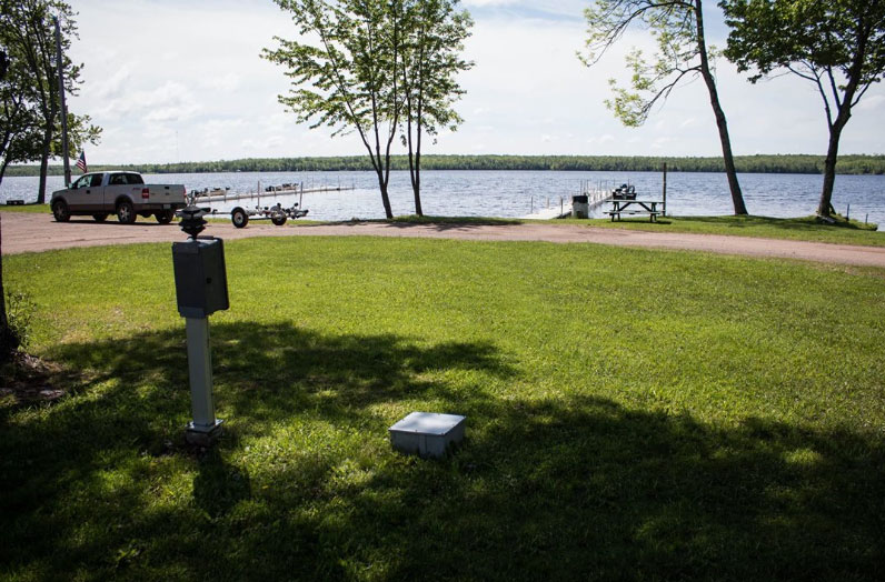 RV Lots for Rent on Lake Gogeic
